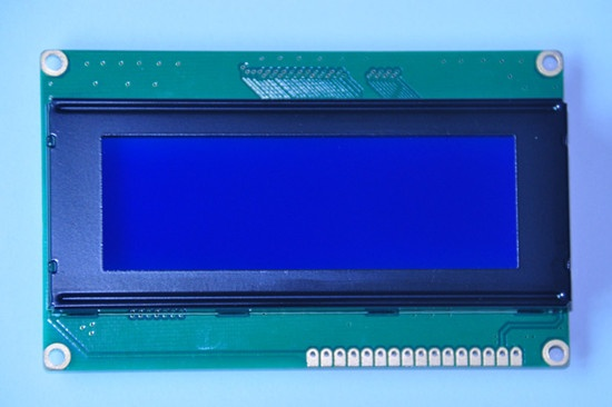 20X4 Character COB module STN Blue Negative LCD with PCB board for Joy stick