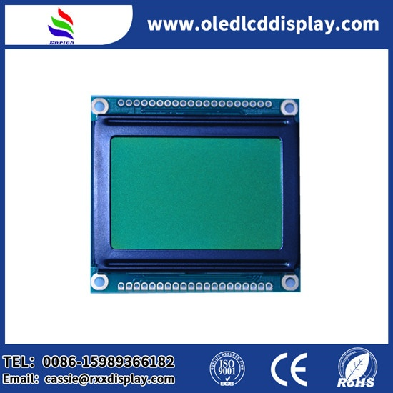 128X64 Graphic LCD module Custom size LCD STN Positive display for industrial control