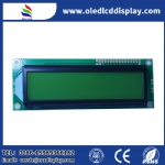 16X2 character LCD module STN positive Yellow-green COB display for POS machine