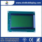 128X64 Monochrome Custom COB module STN Yellow-green LCD display with PCB board