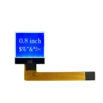 64X64 DFSTN Monochrome small size lcd display FPC connector for measuring instrument