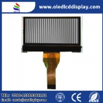 128X64 monochrome LCD display module DFSTN Negative with backlight for Home appliances