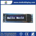 0.69 inch OLED rectangular module 96x16 pixels small size display