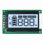 Custom Small Size Segment LCD With HT1621 Controller