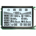 Custom TN Segment LCD COB Module Chip On Board