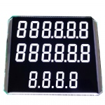 Custom Segment LCD For Fuel Dispenser